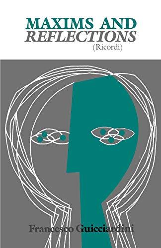 9780812210378: Maxims and Reflections (Ricordi)