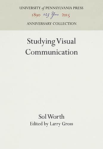 9780812211160: Studying Visual Comm Pb