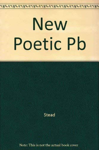 The New Poetic: Yeats to Eliot