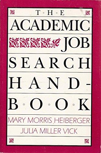 9780812213751: Academic Job Search Handbook