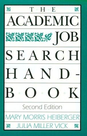 9780812215953: The Academic Job Search Handbook