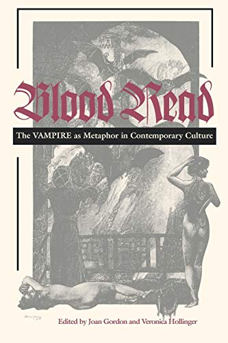 9780812216288: Blood Read: The Vampire as Metaphor in Contemporary Culture