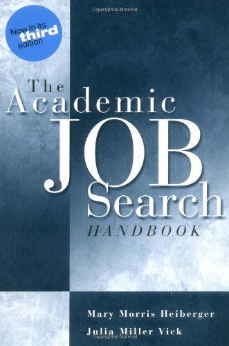 9780812217780: The Academic Job Search Handbook