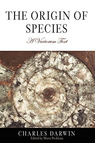 The Origin of Species: A Variorum Text: Charles Darwin
