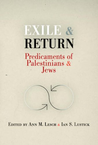 9780812220520: Exile and Return: Predicaments of Palestinians and Jews