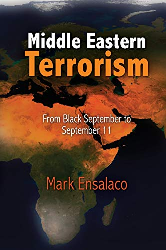 9780812221350: Middle Eastern Terrorism: From Black September to September 11