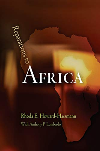 9780812221640: Reparations to Africa (Pennsylvania Studies in Human Rights)