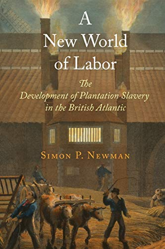 9780812223620: A New World of Labor: The Development of Plantation Slavery in the British Atlantic (The Early Modern Americas)
