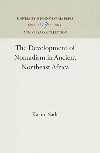 Development of Nomadism in Ancient Northeast Africa, The