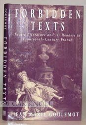 9780812233193: Forbidden Texts: Erotic Literature and Its Readers in Eighteenth-Century France (New Cultural Studies Series)