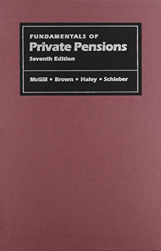9780812233803: Fundamentals of Private Pensions