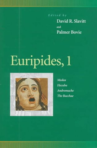 Euripides, 1: Medea, Hecuba, Andromache, the Bacchae (Penn Greek Drama Series) (0812234154) by Euripides; Eleanor Wilner; Marilyn Nelson; Donald Junkins; Daniel Mark Epstein