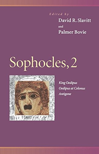 9780812234626: Sophocles, 2 : King Oedipus, Oedipus at Colonus, Antigone (Penn Greek Drama Series)