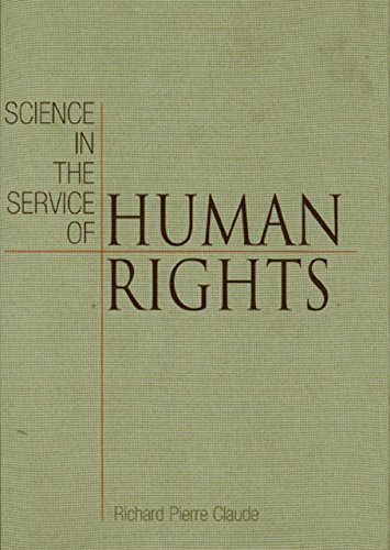 9780812236798: Science in the Service of Human Rights (Pennsylvania Studies in Human Rights)