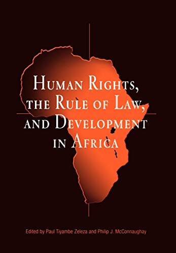 9780812237832: Human Rights, the Rule of Law, and Development in Africa (Pennsylvania Studies in Human Rights)