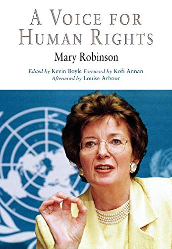 Voice for Human Rights: Robinson, Mary;Boyle, Kevin