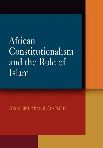9780812239621: African Constitutionalism and the Role of Islam (Pennsylvania Studies in Human Rights)