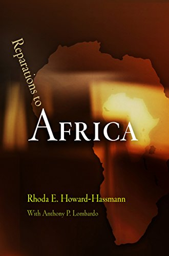 9780812241013: Reparations to Africa (Pennsylvania Studies in Human Rights)