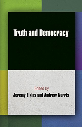 9780812243796: Truth and Democracy (Democracy, Citizenship, and Constitutionalism)