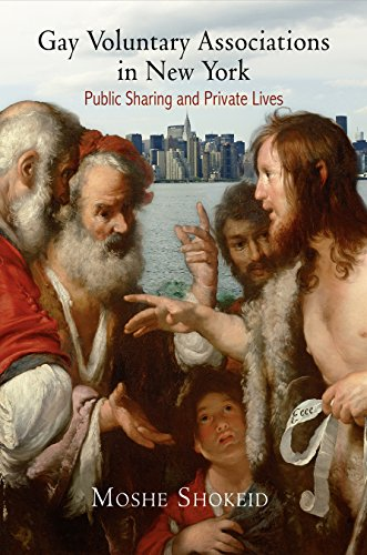 Gay Voluntary Associations in New York (Hardcover): Moshe Shokeid