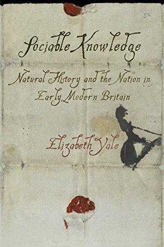 9780812247817: Sociable Knowledge: Natural History and the Nation in Early Modern Britain (Material Texts)