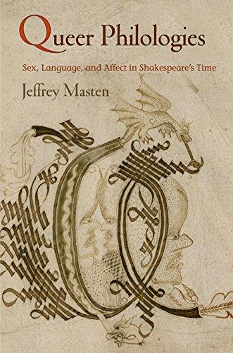 Queer Philologies (Hardcover): Jeffrey Masten