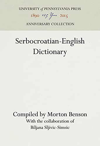 9780812276367: Serbocroatian-English Dictionary