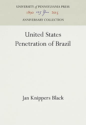 United States Penetration of Brazil: Black, Jan K.