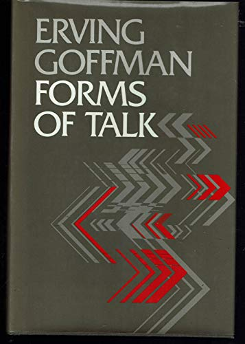 9780812277906: Forms of Talk (University of Pennsylvania Publications in Conduct and Communication)
