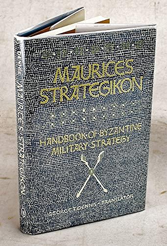 9780812278996: Maurice's Strategikon: Handbook of Byzantine Military Strategy