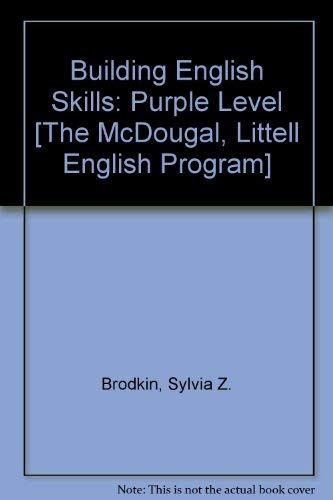 9780812355536: Building English Skills (Purple Level)