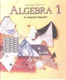 9780812358612: Algebra 1 : An Integrated Approach, Teacher Edition