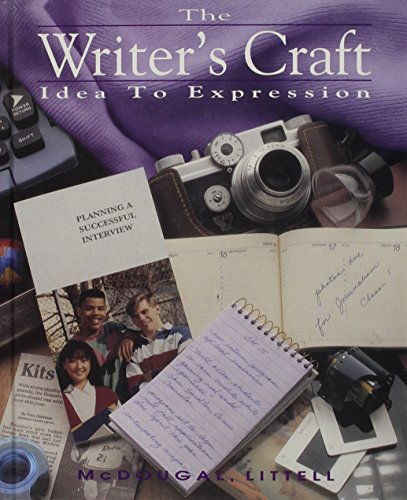 9780812370089: Writers Craft Idea to Expression