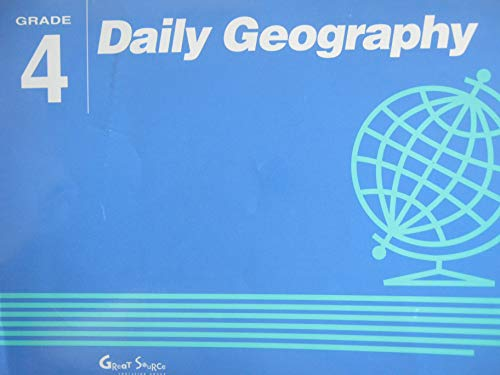 9780812370270: Daily Geography Grade 4