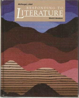 9780812370744: Responding to Literature: World Literature