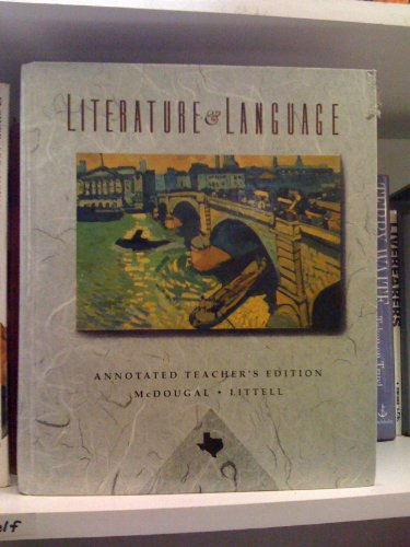 McDougal, Littell literature and language: English and world literature: Richard Craig Goheen