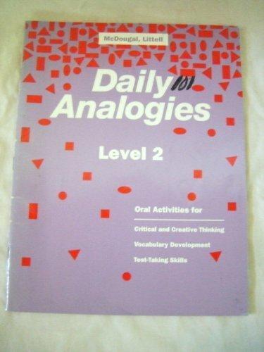 9780812372519: Daily Analogies: Grade 2