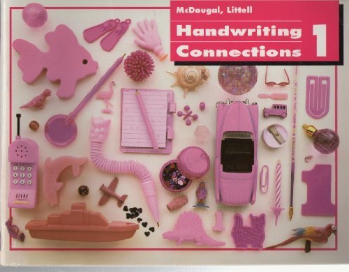 Houghton Mifflin Handwriting Connections: Student Edition Consumable Grade K 1993: HOUGHTON MIFFLIN