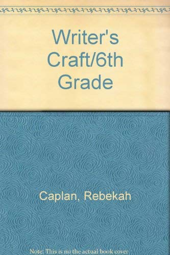 9780812378443: Writer's Craft
