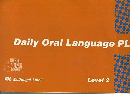 9780812380767: Daily Oral Language Plus, Level 2