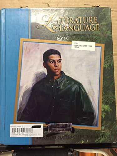 9780812382266: Annotated Teacher's Edition - McDougal Littell Literature & Language - Level Blue - Grade10