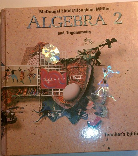 Te Algebra 2 And Trigonometery: Benson