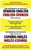 9780812400717: The University of Chicago Spanish-English, English-Spanish Dictionary/Universidad de Chicagodiccionario Espano-Ingles Ingles-Espanol: Spanish-English,
