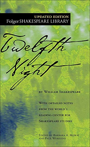 9780812417845: Twelfth Night: Or What You Will (Folger Shakespeare Library)