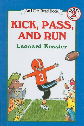 9780812429091: Kick, Pass, and Run (I Can Read Books: Level 2 (Pb))