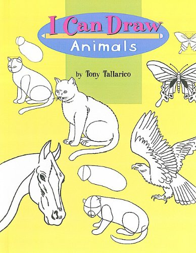 I Can Draw Animals (0812441664) by Tony Tallarico