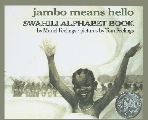 9780812441772: Jambo Means Hello: Swahili Alphabet Book (Puffin Pied Piper)
