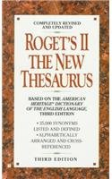 9780812446715: Roget's II: The New Thesaurus