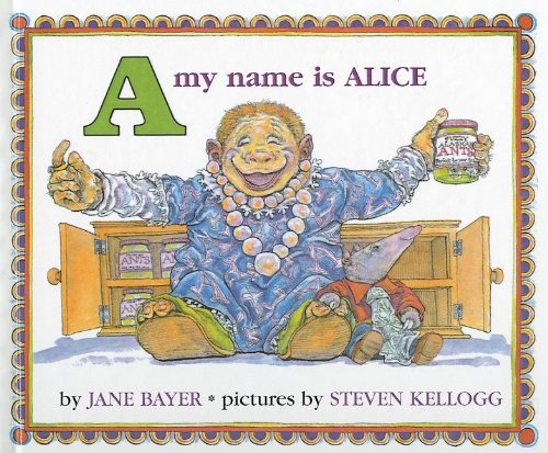 9780812451894: A, My Name Is Alice (Picture Puffin Books)