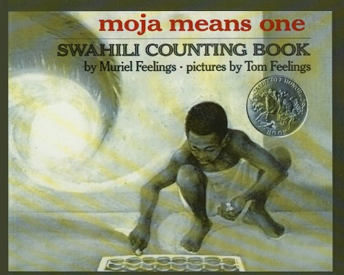 9780812453805: Moja Means One: Swahili Counting Book